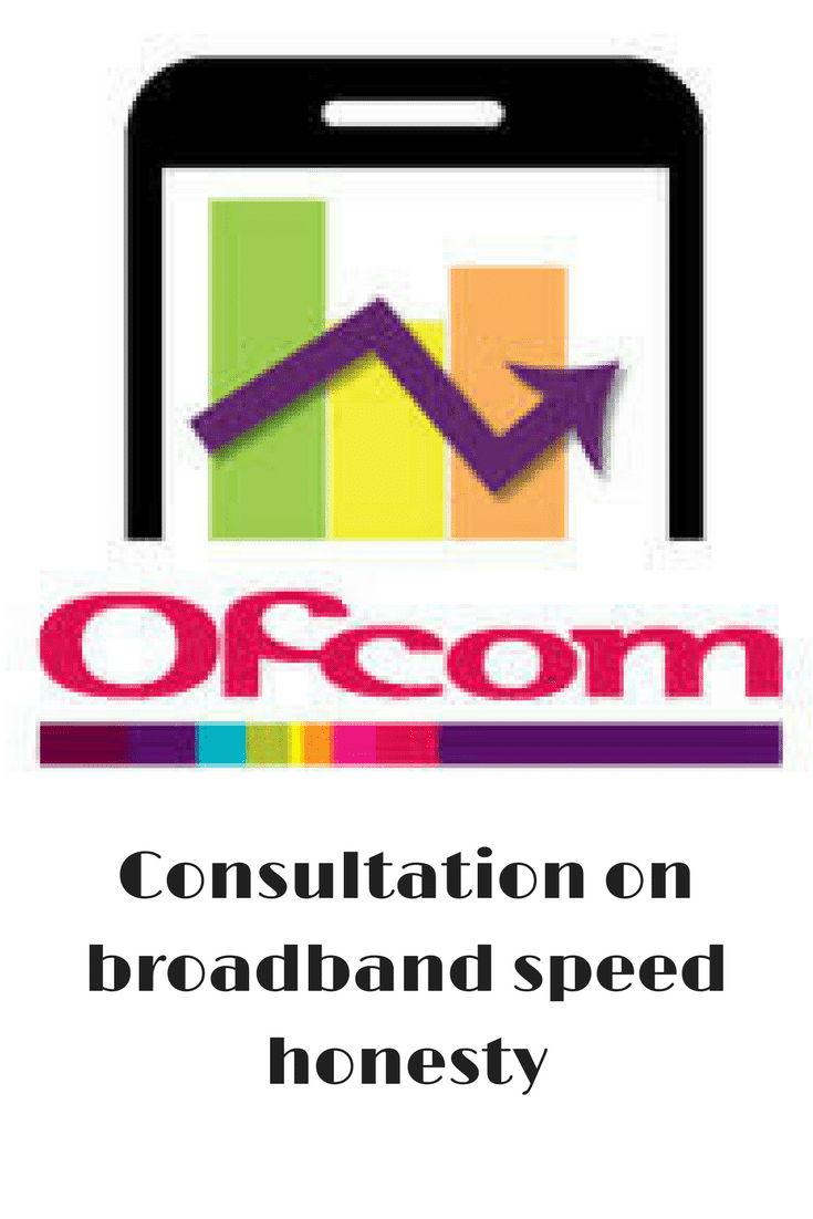 Ofcom consultation on broadband speeds