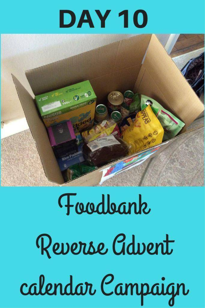 Foodbank reverse advent day 10