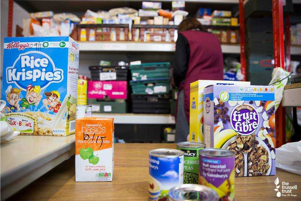 food bank support reverse advent