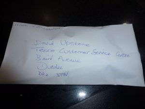 Name and address for complaining to Tesco Chief Executive Office :) You can find CEO contact details at ceoemail.com You're welcome :)