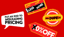 Campaign against supermarkets misleading prices