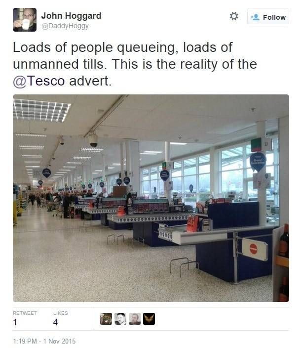 The reality of Tesco adverts