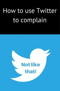 The twitter symbol How not to complain on Twitter