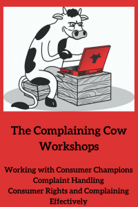 Red background TCC logo Working with Consumer Champions Complaint Handling Consumer Rights and Complaining Effectively