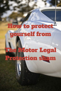 car text- How to protect yourself from the motor legal sham
