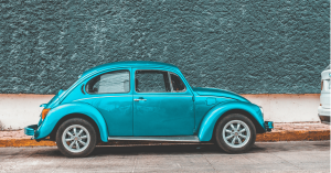 blue beetle car