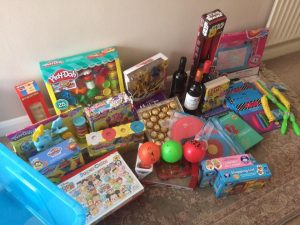 toys, gifts and wine