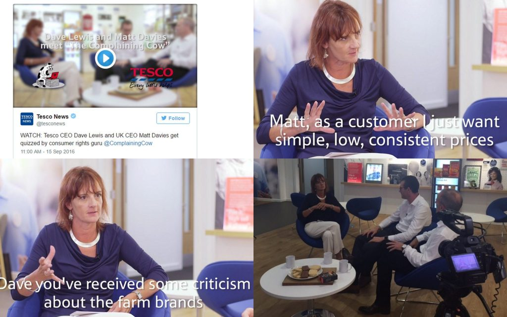 Case study: Tesco and a consumer champion | The Complaining Cow