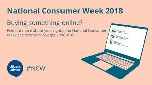 National Consumer Week picture of laptop