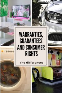 grid, tv, car, washing machine and kettle warranties, guarantees and consumer rights the differences