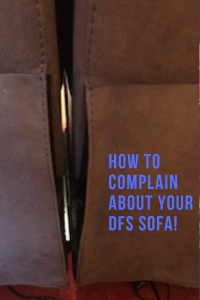 sofa with gap how to complain about your DFS sofa