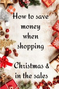 Christmas decorations border how to save money when shopping Christmas and sales