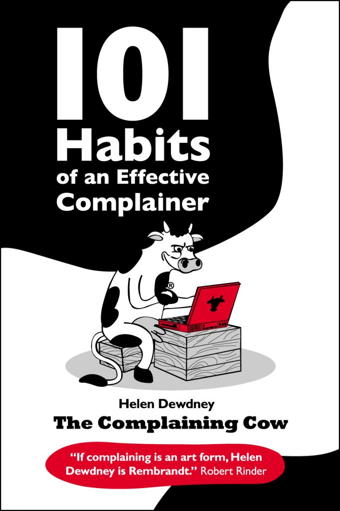 101 Habits of an Effective complainer book cover with logo