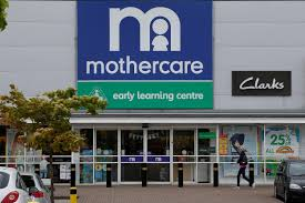 Outside Mothercare store