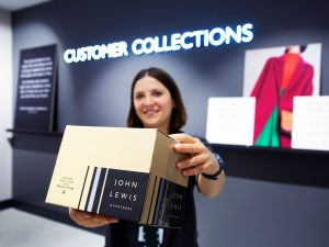 John Lewis store collection point in store